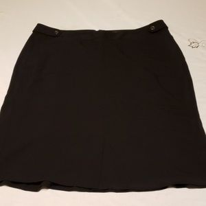 Plus size 18w lane Bryant black skirt